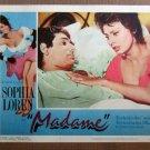 XY93 MADAME  Sophia Lorenoriginal  1963  lobby card