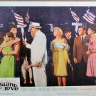 XY96  ISLAND OF LOVE  Robert Preston original 1963 lobby card