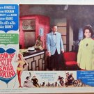 XY98 HOW TO STYFF A WILD BIKINI   Annette Funicello  original 1965 lobby card