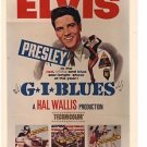 GI BLUES (1961) Elvis Presley rare original color promo still  GBL112