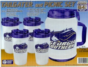Georgia Southern University Tailgate Pitcher & Tumblers