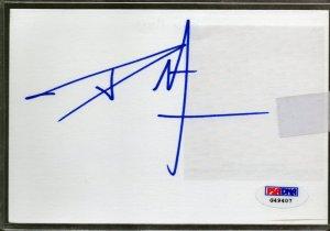 Dave Mirra Autographed Signed Index Card PSA/DNA (auto, PSA)