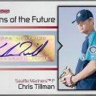 2008 Bowman Signs of the Future Autograph Chris Tillman (auto)