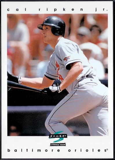 1997 Score 5x7 Jumbos Cal Ripken Jr. RARE!