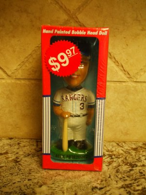 Officially Licensed Alex Rodriguez Hand Painted Bobble Dobble Bobble Head Texas Rangers ARod