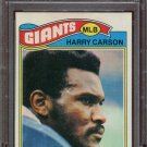 1977 Topps Football Harry Carson #146 PSA 9 (OC) equals PSA 7