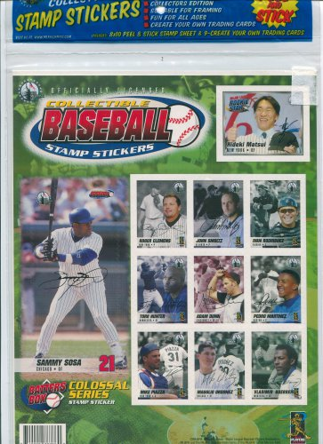 Merrick Mint Batters Box Colossal Series Stickers & cards Mike Piazza Pedro Martinez