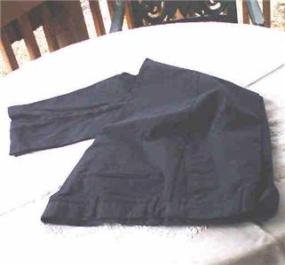 DAVID TAYLOR MENS NAVY PANTS 40 X 29