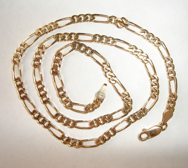 UYG-1008   14k Yellow Gold Necklace