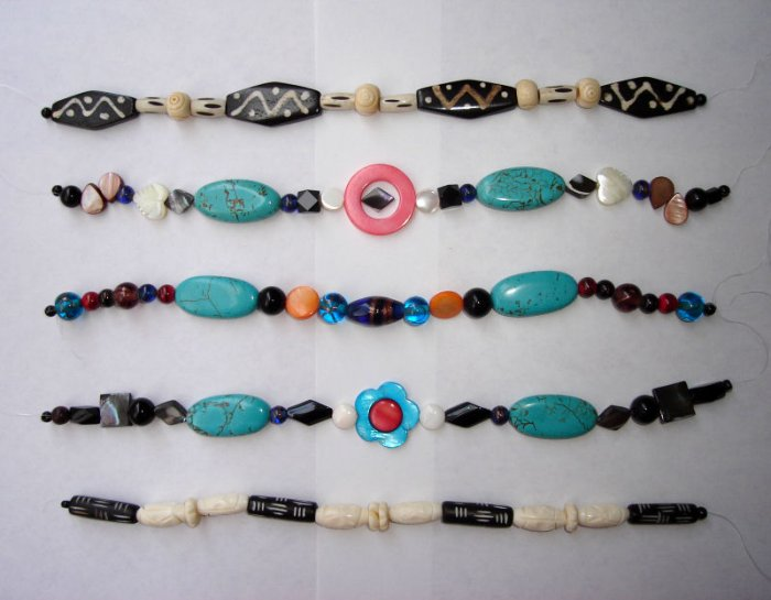 Free Shipping  6 strings/lot  Jewelry Gemstone Mixed  Beads