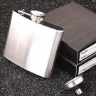 Free Shipping--Hip Flask With Funnel 5 oz