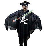 Free Shipping 3 pcs/lot New Skull Ghost Halloween Costumes