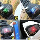 Free shipping---Fashion B-2 Spirit (the Stealth Bomber) shape Led watches