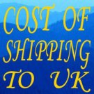 Cost of S & H to UK & AU