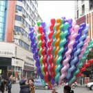 Spiral balloon--100 pcs/lot free shipping party toy