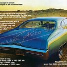 "1968 Buick GS 400 Ad Digitized & Re-mastered Print ""Car That Looks Like it Has a Lot to Say"" 16""x24"""