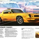 "1979 Camaro Z/28 Ad Digitized & Re-mastered Poster Print ""The Ultimate Camaro"" 16"" x 24"""