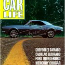 "1967 Camaro November 1966 Car Life Cover Ad Digitized & Re-mastered Poster Print 18"" x 24"""