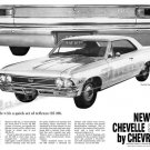 "1966 Chevelle SS Ad Digitized & Re-mastered Poster Print ""Quick Reflexes"" 16"" x 24"""