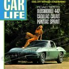 "1967 Corvette Stingray Ad Digitized & Re-mastered Poster Print Car Life Magazine Cover 18"" x 24"""