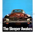 "1969 Chevrolet Nova SS Ad Digitized & Re-mastered Poster Print ""The Sleeper Awakes"" 18"" x 24"""