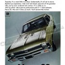 "1968 Chevrolet Nova SS Ad Digitized & Re-mastered Poster Print ""Chevy II Much"" 18"" x 24"""