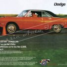 "1970 Dodge Dart Swinger Ad Poster Print ""If You Can Find a Hotter Performance Car Buy It"""