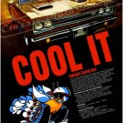 "1969 Dodge Super Bee Ad Digitized & Re-mastered Poster Print ""Cool It"" 18"" x 24"""