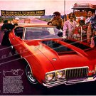 "1970 Oldsmobile 442 Ad Digitized & Re-mastered Poster Print ""Gratitude"" 16"" x 24"""