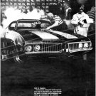 "1969 Oldsmobile Cutlass S W-31 Ad Digitized & Re-mastered Poster Print ""Roaring Success"" 18"" x 24"""