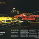 "1974 Pontiac Firebird Trans Am Ad Digitized & Re-mastered Print ""Part Engineering Part Soul"" 16""x24"""