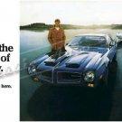 "1970 Firebird Formula & Trans Am Ad Digitized & Re-mastered Print ""Beginning of Tomorrow"" 18"" x 36"""