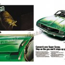 "1969 Chevrolet Camaro RS/SS Ad Digitized & Re-mastered Print ""Insert Foot Open Mouth"" 18"" x 24"""