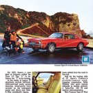 "1973 Chevrolet Camaro Type LT Ad Digitized & Re-mastered Poster Print ""Type LT"" 18"" x 24"""