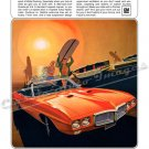 "1969 Pontiac Firebird 400 Ad Digitized and Re-mastered Poster Print ""Your Time Has Come"" 18"" x 24"""