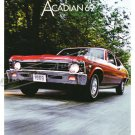 "1969 Pontiac Acadian Ad Digitized & Re-mastered Poster Print Brochure 18"" x 24"""