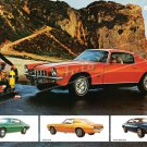 "1973 Chevrolet Camaro Type LT Ad Digitized & Re-mastered Poster Print Brochure Centerfold 24"" x 36"""
