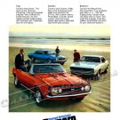"1967 Camaro Ad Digitized & Re-mastered Poster Print ""How Much Camaro You Want"" 24"" x 32"