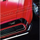 "1967 Camaro SS Ad Digitized & Re-mastered Poster Print ""Thinks it's a Sports Car"" 24"" x 32"""