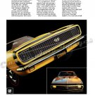 "1967 Camaro SS Ad Digitized & Re-mastered Poster Print ""The Masked Marvel"" 24"" x 32"""