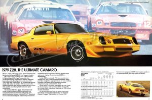 """1979 Camaro Z/28 Ad Digitized & Re-mastered Poster Print """"The Ultimate Camaro"""" 24"""" x 36"""""""