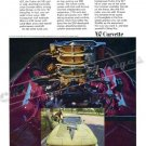 "1967 Chevrolet Corvette Stingray Ad Digitized & Re-mastered  Poster Print ""Deuces Wild!"" 24"" x 32"""