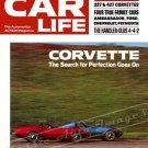 "1968 Corvette Stingray Ad Digitized & Re-mastered Poster Print Car Life Magazine Cover 24"" x 32"""