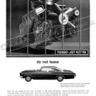 "1966 Chevrolet Impala SS Ad Digitized & Re-mastered Poster Print ""Do Not Tease"" 24"" x 32"""