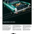 "1968 Chevrolet Nova SS Ad Digitized & Re-mastered Poster Print ""Toughest Block on the Block"" 24""x32"""