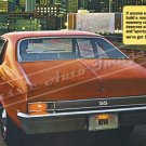 "1969 Chevrolet Nova SS Ad Digitized & Re-mastered Poster Print ""We've Got Blueprints"" 24"" x 40"""