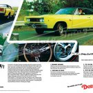 "1968 Dodge Coronet R/T Ad Digitized & Re-mastered Poster Print ""Time Machine"" 24"" x 36"""