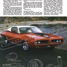 "1971 Charger Super Bee Ad Digitized & Re-mastered Poster Print ""It's a Regular Gas"" 24"" x 32"""