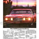 "1968 Oldsmobile 442 Ad Digitized & Re-mastered Poster Print ""The Hidden Persuaders"" 24"" x 32"""
