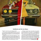 "1967 Plymouth Belvedere GTX Ad Digitized & Re-mastered Print ""Goldilocks & the Two Bear"" 24"" x 32"""